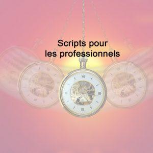 Scripts pour professionnels